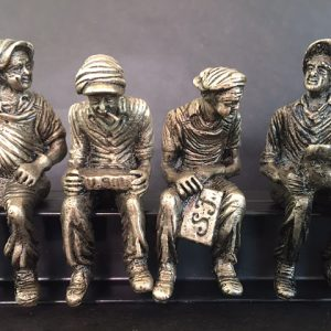 Lunchtime on a Skyscraper 5″ Bronze